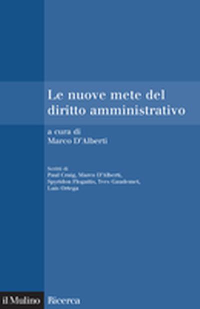 Cover Le nuove mete del diritto amministrativo