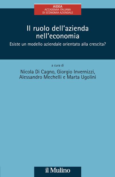 Cover Il ruolo dell'azienda nell'economia