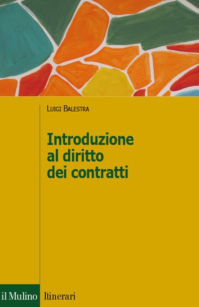 Cover Introduzione al diritto dei contratti