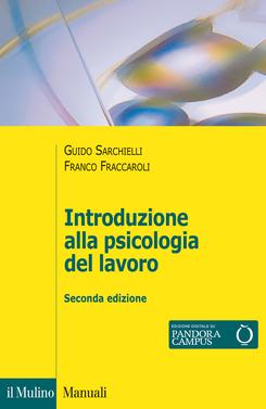 copertina Introduzione alla psicologia del lavoro