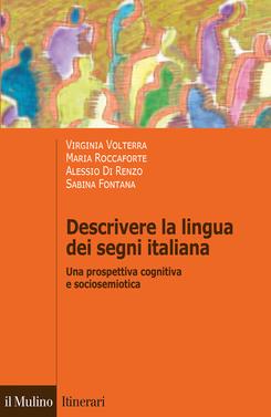copertina Descrivere la lingua dei segni italiana