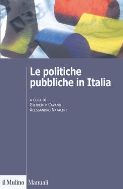 copertina Le politiche pubbliche in Italia